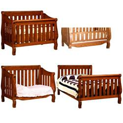 baby cribs made in america american made baby cribs amish caspian 4 in 1