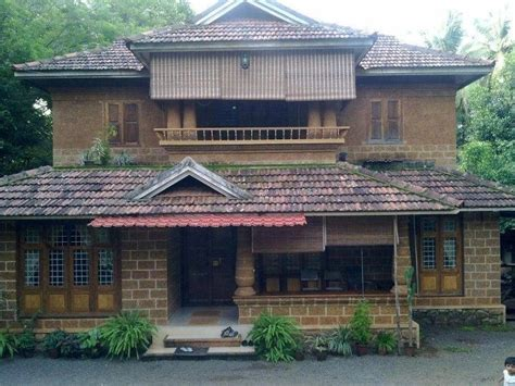 log house designs kerala home south indian traditional house plans search