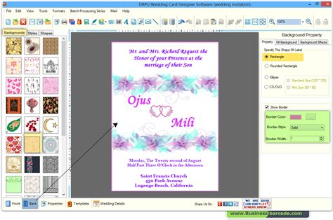 software for cards and invitations software to make invitation cards outdoor figures at