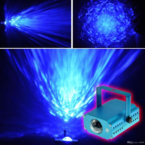 water led lights led water ripples light led laser stage lighting colorful