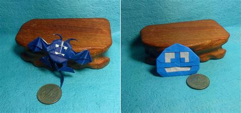origami slime videogame origami part 2 nintendo and square enix