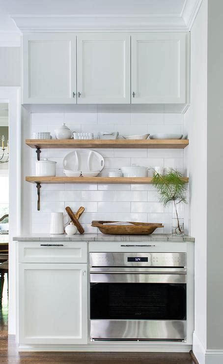 kitchen cabinet shelving stacked wood kitchen shelves with iron brackets