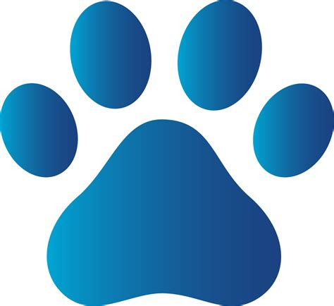 paw print paw print images clipart best