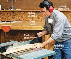 woodwork safety diy do it yourself