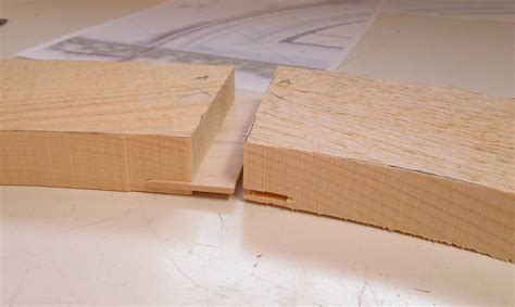 spline woodworking curved molding