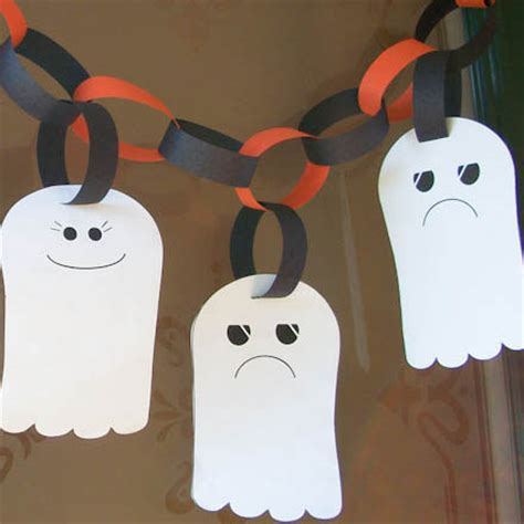 ghost craft for make a ghost garland crafts s crafts