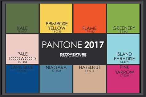 colors for 2017 fashion the 2017 color trends decoventure