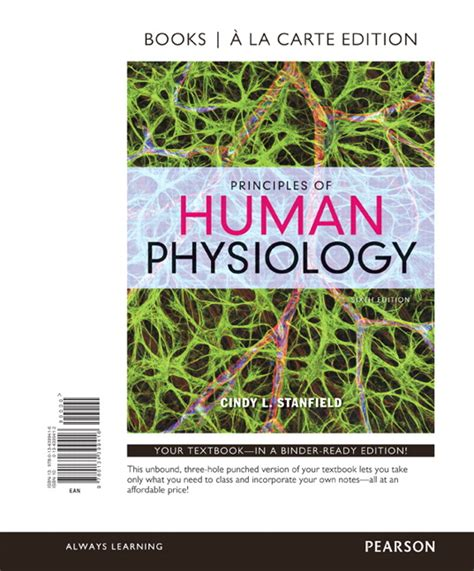 principles of human physiology 6th edition stanfield principles of human physiology 6th edition