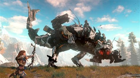 horizon zero new horizon zero trailer released at playstation