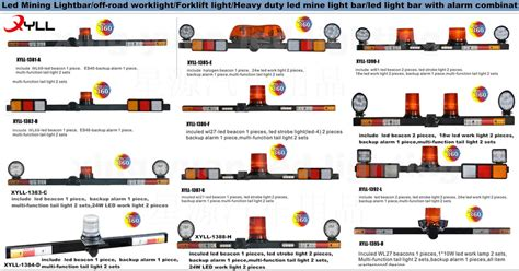 led safety light bars safety heavy duty mining light led mine light bar
