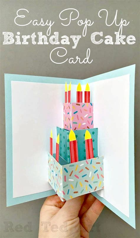 up birthday cards 50 diy birthday cards for everyone in your