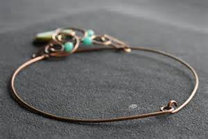 copper wire for jewelry copper wire wrapped necklace with agate and angelit