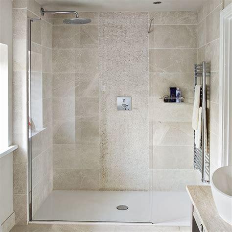 bathroom tiles ideas uk neutral tiled shower room decorating ideal home