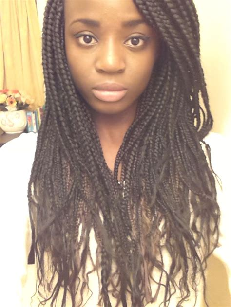 how to braid hair with on the end box braids with ends hair we