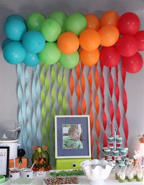 Home Party Decoration Ideas 22 cute amp low cost diy decorating ideas for baby shower