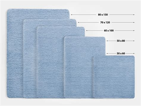 rug sizes fluffy bathroom rugs sky blue 6 sizes available