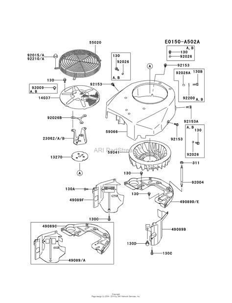 Kawasaki Engines Manuals by Kawasaki Fd750d Wiring Diagram Kawasaki Fb460v Wiring