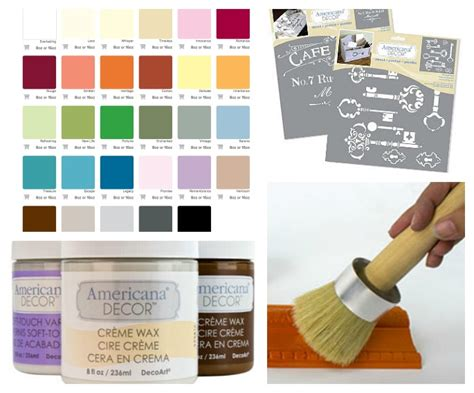 home depot americana decor chalky paint colors projects and a decoart giveaway at the picket fence