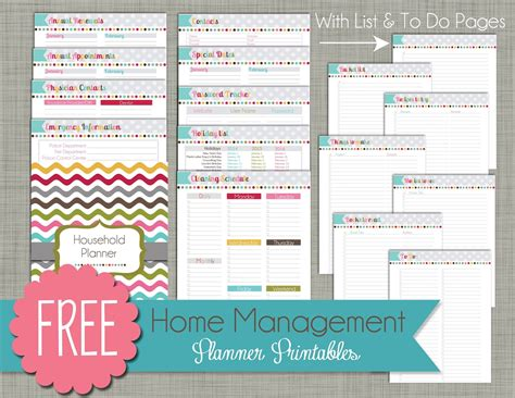 home planner free 6 best images of home planner free printables free