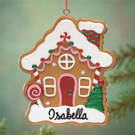 house ornament personalized personalized gingerbread house ornament ornaments