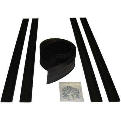 garage door seals home depot proseal 16 ft garage door bottom seal kit 54016 the