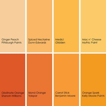paint colors yellow orange 103 best images about color inspiration on