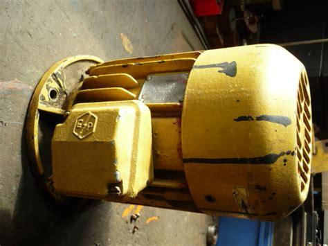 Motor Electric Romanesc by Electric Motor For 1 To 2 Tons Veb Takraf Lunzenau Scissor