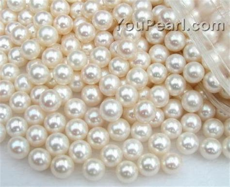 pearl bead 7 7 5mm white freshwater pearl wholesale aa