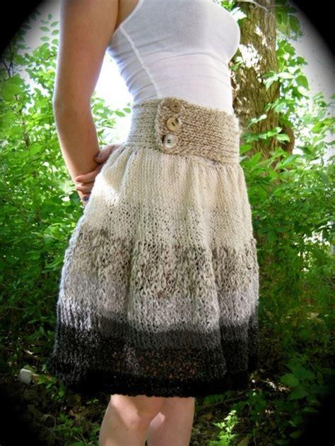knitted skirt knit skirt pattern knitting
