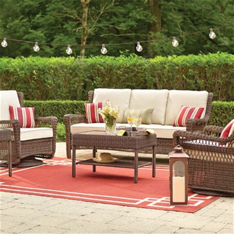outdoor patio furniture set patio furniture for your outdoor space the home depot