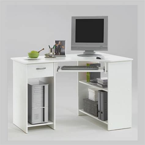 small white desk for small corner desk white homefurniture org