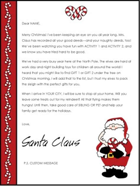 Naughty Bridal Shower Invitations by Printable Christmas Letter From Santa Template
