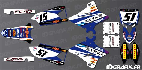 kit decoration sx usa edition yamaha yz yzf 125 250 450