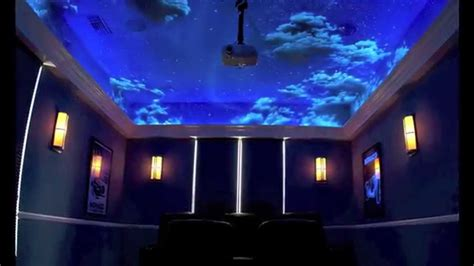 Wall Stickers Glow In The Dark sky murals clouds and ceiling murals youtube