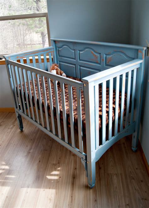 diy chalk paint crib crib makeover averie crib makeover