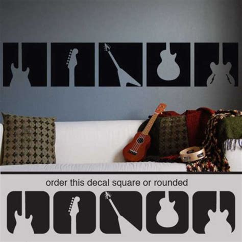 guitar wall stickers popular guitar wall murals buy cheap guitar wall murals