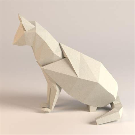 3d origami animals paper cat whale 3d 3ds
