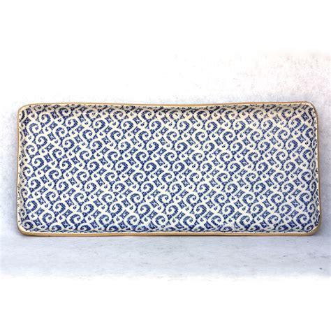 Home Design Store tart tray quot blue marakesh quot