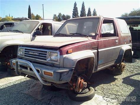 1990 Daihatsu Rocky by Row52 1990 Daihatsu Rocky At N Pull Rocklin