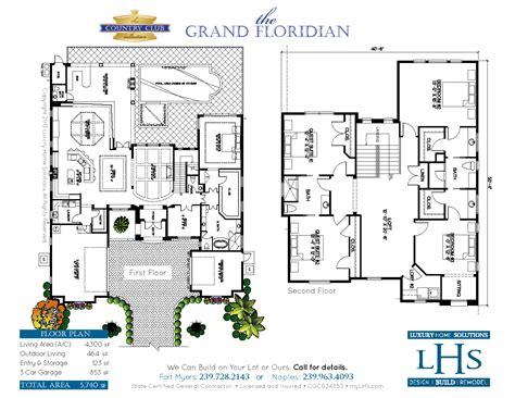 grand floridian floor plan the grand floridian custom home builder i design