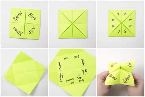 origami cootie catcher how to make an origami cootie catcher