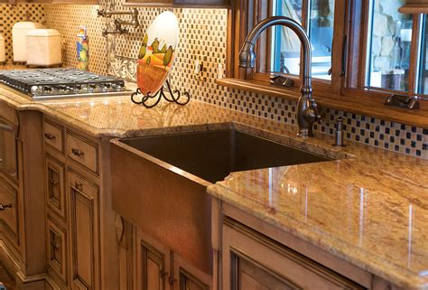 kitchen with copper sink textbook guest post maintaining copper kitchen sinks