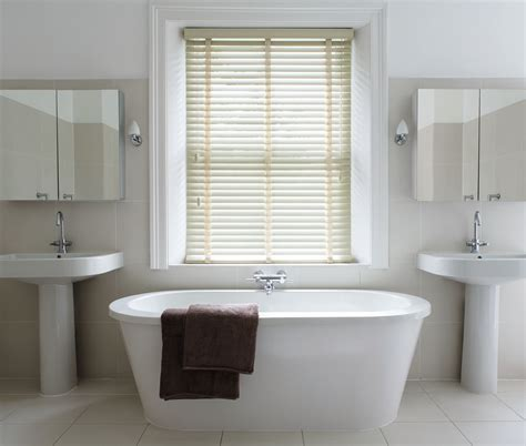 Bathroom Blind Ideas by Which Blinds Are Best For Bathrooms Wooden Blinds Direct