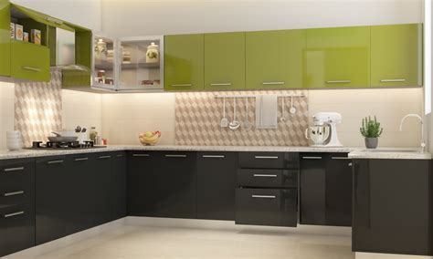 Easy Kitchen Backsplash buy romaine u shape modular kitchen online in india