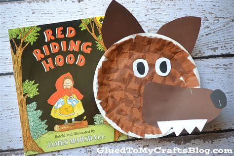 wolf paper plate craft paper plate wolf kid craft hoods and kid