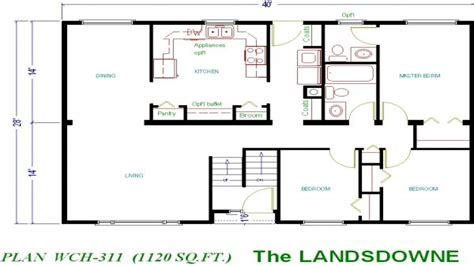 floor plan 1000 square foot house house plans 1000 sq ft 1000 square foot cottage