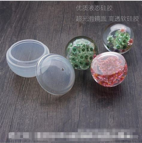 how to make resin jewelry molds aliexpress buy 1 set diy sphere silicone mold dried
