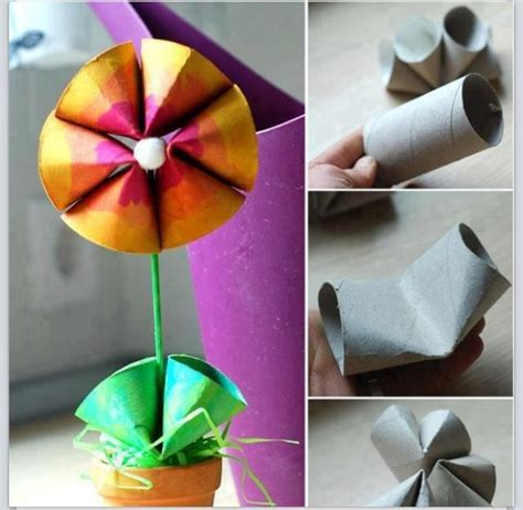 recycle toilet paper rolls crafts preschool crafts for s day recycled toilet