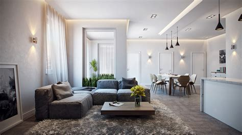 Kelly Hoppen Dining Room by Modern Apartment Interior Design Ideas