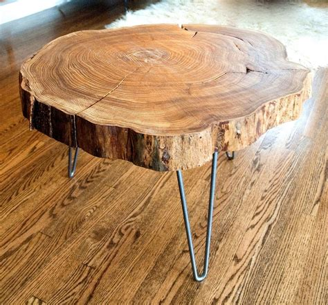 roundhouse woodworking custom live edge slab side table coffee